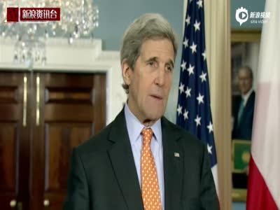 美国务卿:将与中国严肃讨论南海部署导弹一事