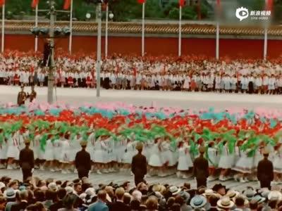 法国纪录片大师镜头下1955年的彩色北京