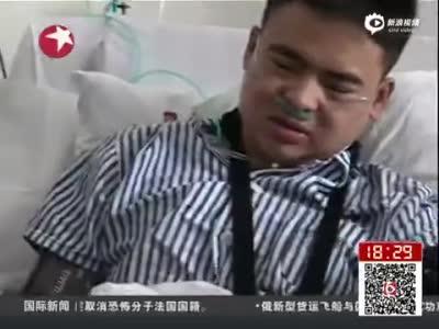 深圳滑坡幸存者与父亲见面  已能进行简单交流