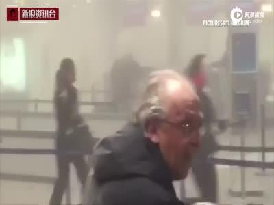 比利时爆炸案记者会:欧盟外长情绪失控流泪