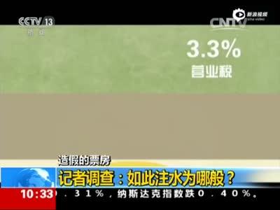 央视揭电影票房造假 《捉妖记》凌晨上座率108%
