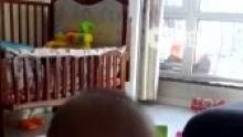 """第319天(2013.2.19)    嚎哥式""""亲亲""""。[爱你](来自拍客手机客户端 下载地址:http://video.sina.com.cn/app/sinapaike.html)"""