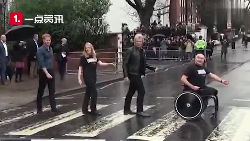 视频-英国皇室首位摇滚明星?哈里王子与摇滚歌手邦