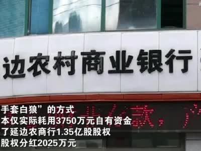 视频丨女商人骗贷3亿入股延边农村商业银行 成为第二大股东