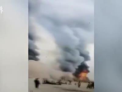 湖北襄阳一影视基地布景起火,无人员伤亡