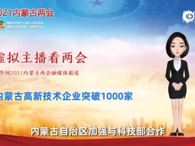 虚拟主播看两会丨内蒙古高新技术企业突破1000家