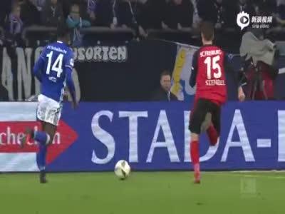 科诺普良卡进德甲首球 沙尔克1-1战平弗赖堡