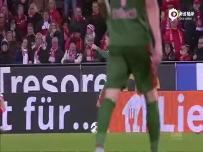 马尔勒一人独造3球 美因茨主场4-2弗赖堡