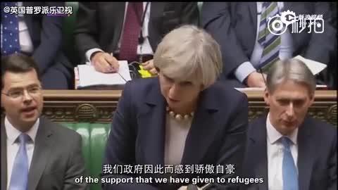 英国下议院首相质询:梅姨连续反击气势十足