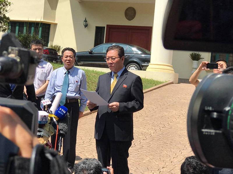朝鲜驻马大使再发声明指责马方不公拖延移交遗体