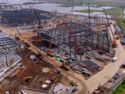 特斯拉上海超级工厂即将扩大一倍 因特斯拉准许在中国生产Model Y