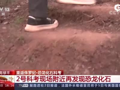 视频一[新闻直播间]云南禄丰重返侏罗纪·恐龙化石科考现场发现工作正在进行中